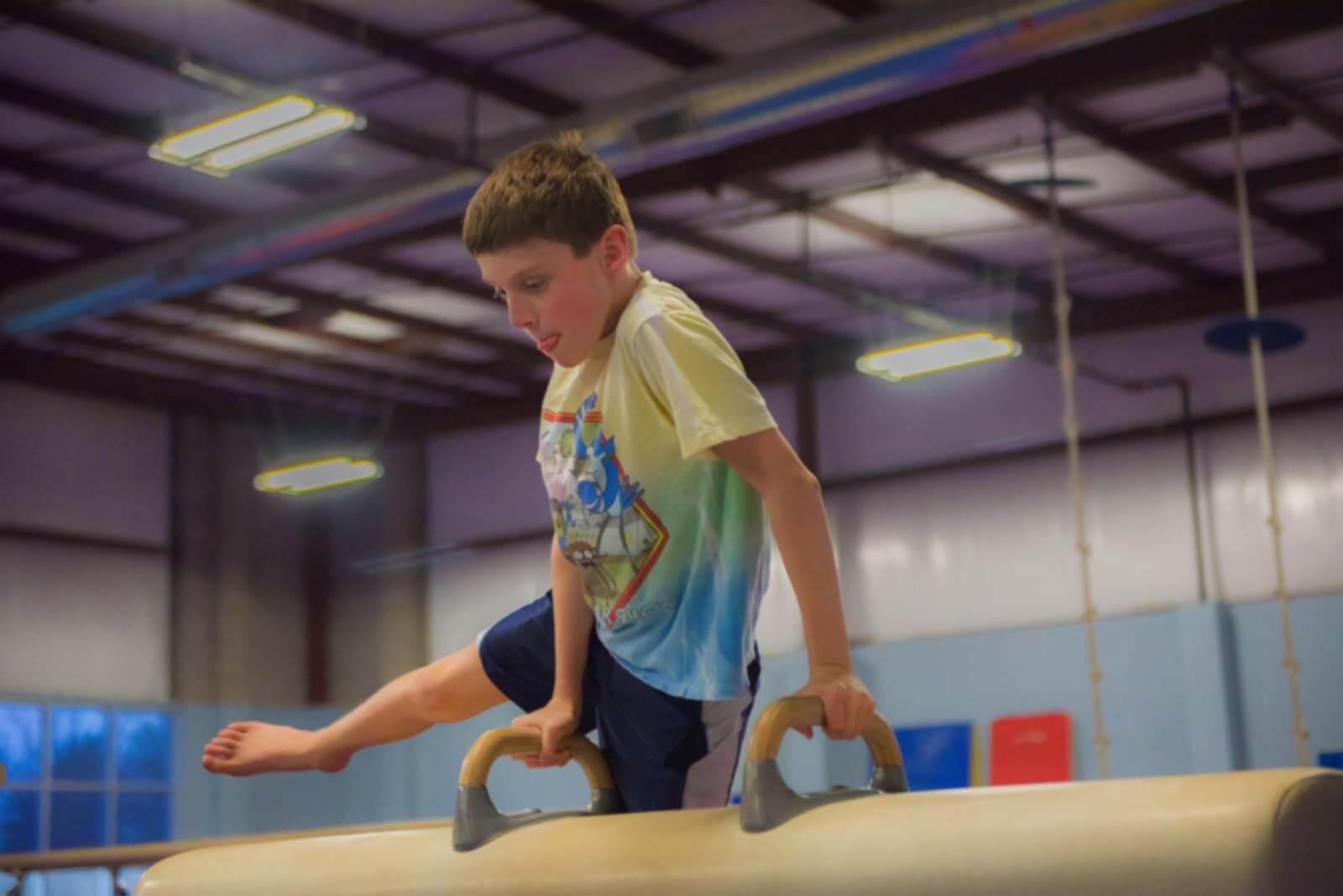 gymnastics classes: