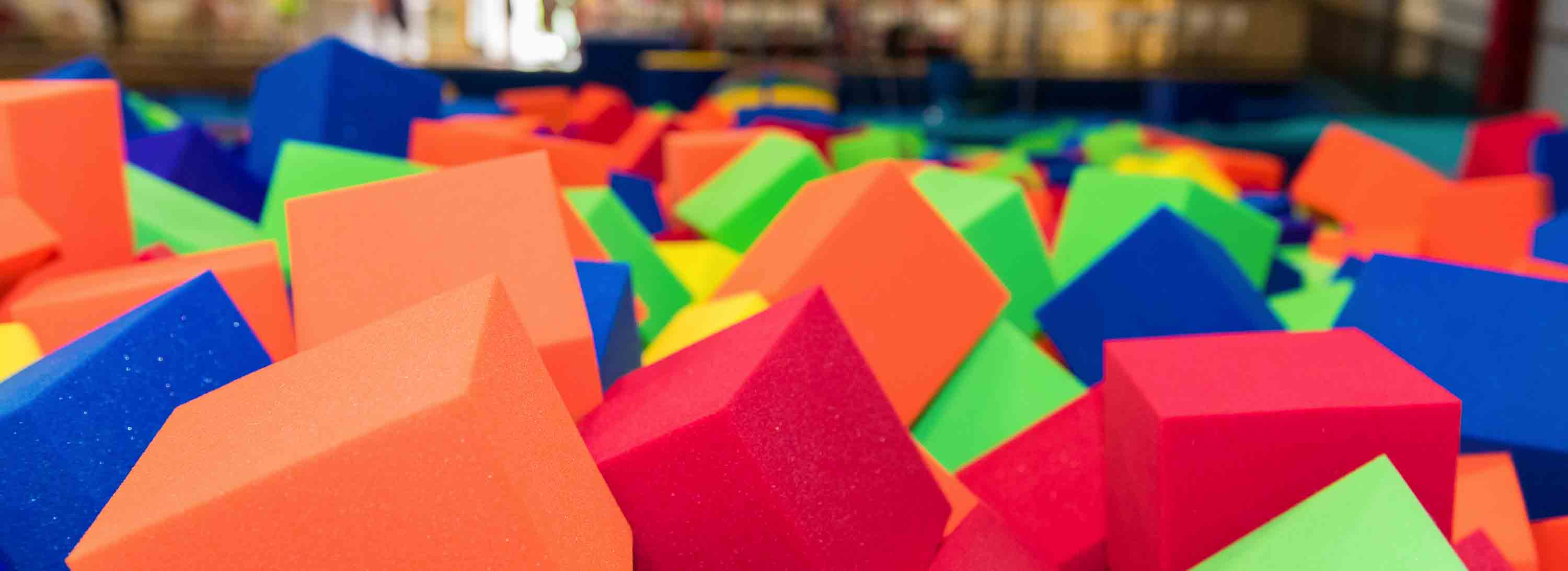 A photo of our foam pit.
